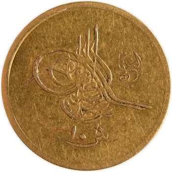 Égypte, Abdul Hamid II, 10 qirsh, AH 1293/23 (1897) Constantinople