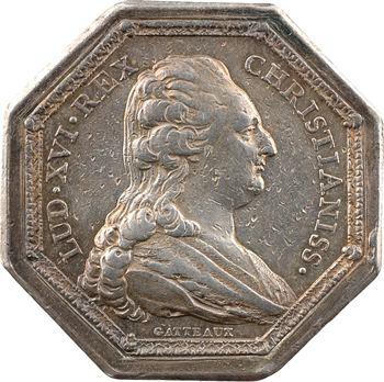 Bordeaux, Chambre de commerce, par Gatteaux, 1784 Paris
