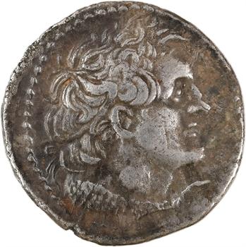 Égypte, Ptolémée V ou VI, tétradrachme, Alexandrie, 204-180 ou 180-145 av. J.-C.