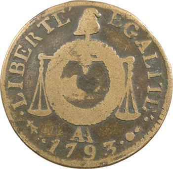 Convention, sol aux balances, 1793 Metz
