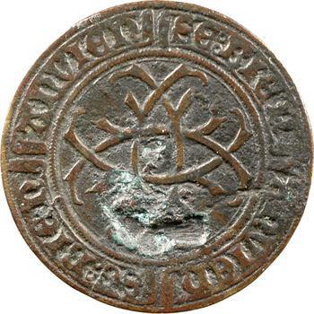 Bourgogne/Nevers, Jean de Bourgogne, jeton de compte, s.d. (2e moitié XVe s.)