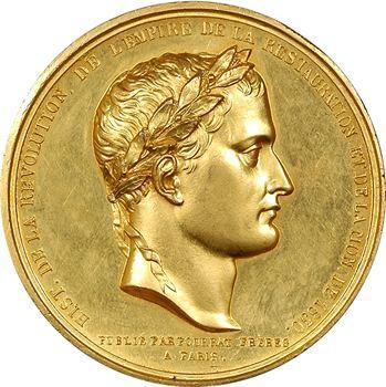 Louis-Philippe Ier, Napoléon Ier aux Invalides, pour Pourrat frères, s.d. (1844) Paris