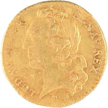 Louis XV, demi-louis d'or au bandeau, 1749, 2d semestre, Paris