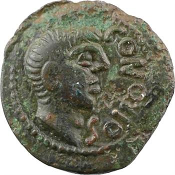 Santons, quadrans CONTOVTOS, c.40 av. J.-C.