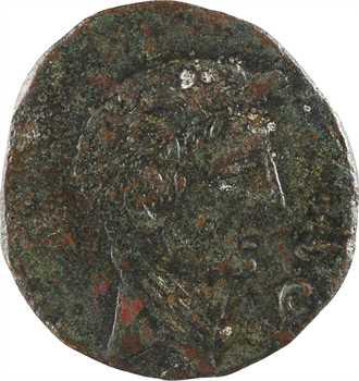 Octave, sesterce ou dupondius, Italie, 38 av. J.-C.