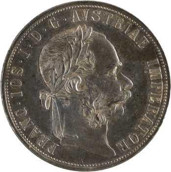 Autriche, François-Joseph Ier, 2 florins, 1889 Vienne