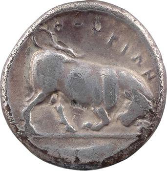 Lucanie, Thurium, didrachme, c.443-400 av. J.-C.