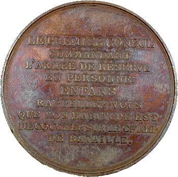 Consulat, Bataille de Marengo, commandement de Bonaparte, An 8 Paris