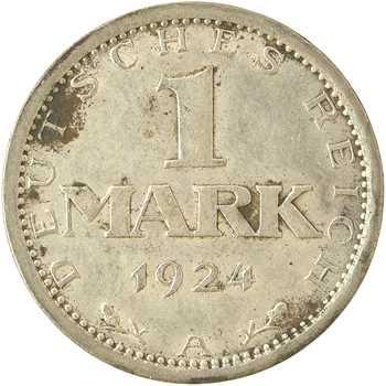 Allemagne (Empire d'), 1 mark, 1924 Berlin