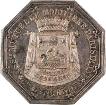 Louis-Philippe Ier, Assurance Mobilière Parisienne, par Michaut, 1837 Paris