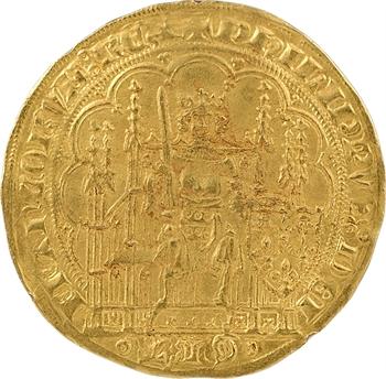 Philippe VI, écu d'or à la chaise, 3e émission