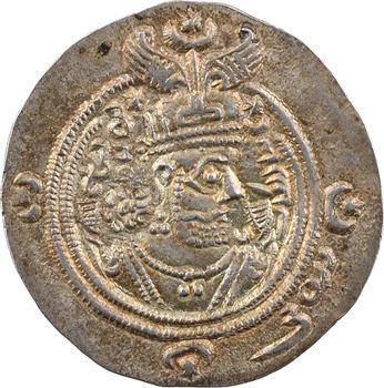 Royaume Sassanide, Chosroès II, drachme, An 27 (c.616-617) Istakhr ?