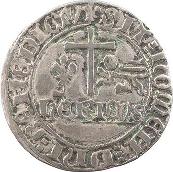 Henri VI, blanc aux écus, Saint-Lô