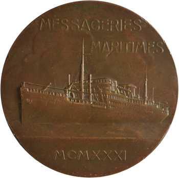 Égypte, Compagnie des Messageries Maritimes, le paquebot Georges Philippar, par Maillard, 1931 Paris