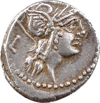 Junia, denier, Rome, 91 av. J.-C.