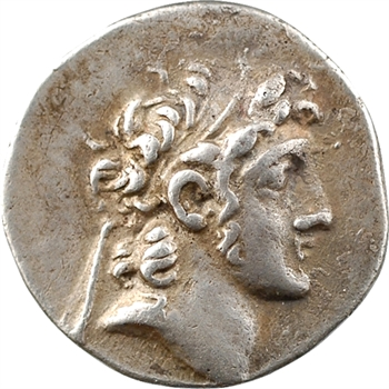 Cappadoce, Ariarathe VI, drachme, An 12 = 119-118 av. J.-C