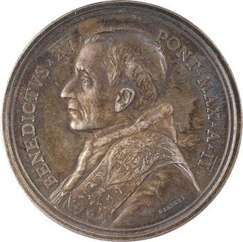 Vatican, Benoît XV, médaille annuelle, prière pour la Paix dans le monde, 1916 Rome