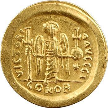 Justin Ier et Justinien, solidus, Constantinople, 10e officine, avril à août 527