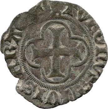 Louis XI, denier tournois (croisette / couronnelle), Châlons-en-Champagne