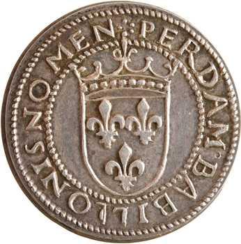 IIIe République, essai au type du ducat d'or de Louis XII, en argent, s.d. Paris