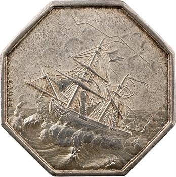 Louis-Philippe Ier, Compagnie d'Assurances Maritimes (Mélusine), par Caqué et Dubois, s.d. Paris