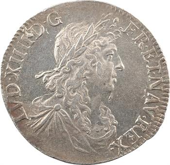 Louis XIV, demi-écu au buste juvénile, 1re effigie, 1660 Bayonne