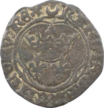 Charles VII, denier parisis, type spécial, s.d. (1431 ou 1436) Châlons-en-Champagne