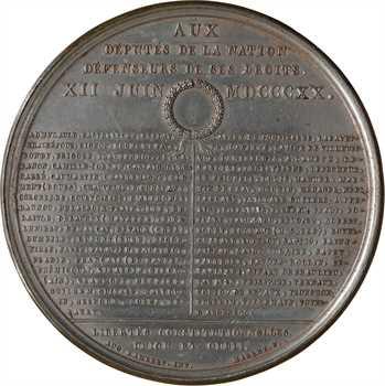 Louis XVIII, la charte constitutionnelle le 12 juin, 1820 Paris