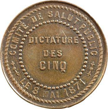 Commune (la), Commune de Paris, dictature des cinq, 1871