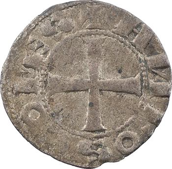 Saint-Gilles (évêché et comté de), Alphonse Jourdain, denier, s.d. (1112-1148)