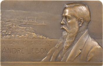 Dautel (P.-V.) : André Lebon, président des Messageries maritimes, 1913 Paris