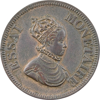 Louis-Philippe Ier, essai à l'effigie de Louis XIII, 1839 Paris