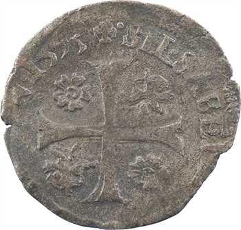 Comtat Venaissin, Clément VIII et Silvio Savelli, douzain, 1593 Carpentras