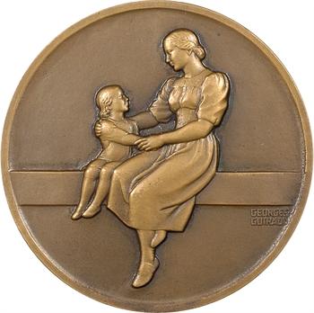 IIe Guerre Mondiale, les enfants de France reconnaissants à leurs hôtes suisses, par G. Guiraud, s.d. Paris