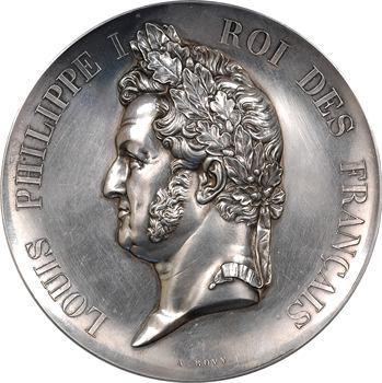 Louis-Philippe Ier, établissement des lignes de chemins de fer, 1842 (refrappe après 1880) Paris