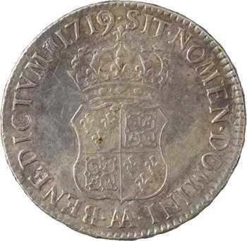Louis XV, écu de Navarre, 1719 Metz