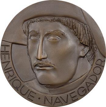 Portugal, Compagnie Coloniale de Navigation (C.C.N.), hommage à Henri le Navigateur (Henrique Navegador), par Correia, 1960