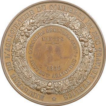 Second Empire, concours agricole de Nantes, instruments aratoires, 1859 Paris