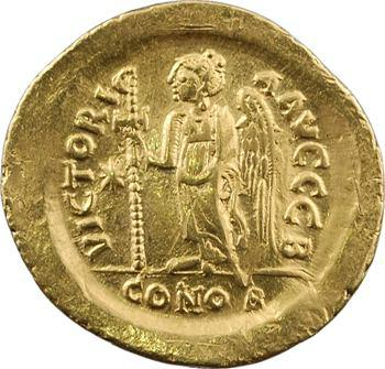 Justin Ier, solidus, Constantinople, 2e officine, 518-527