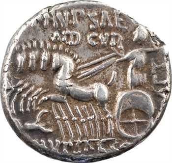 Aemilia, denier, Rome, 58 av. J.-C.