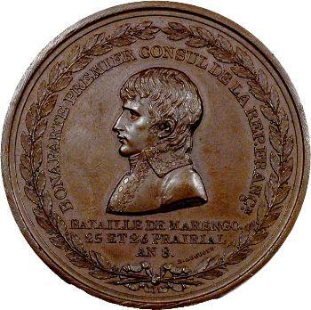 Consulat, bataille de Marengo, commandement de Bonaparte, An 8