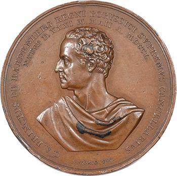 Allemagne, 70ème anniversaire de Frédéric Guillaume III, par König, 1820