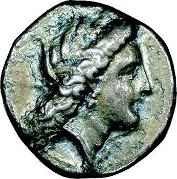 Lucanie, Métaponte, didrachme, 330-300 av. J.-C.