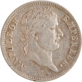 Premier Empire, 1 franc République, 1808 Nantes