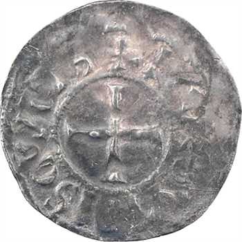 Lyon (comté de), Hugues le Noir, obole, s.d. (932-952) Lyon