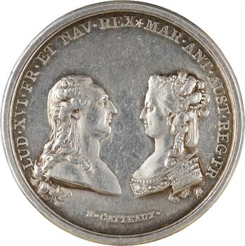 Louis XVI, naissance du Dauphin, par Gatteaux, 1781 Paris