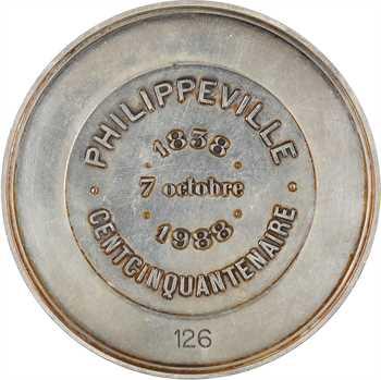 Algérie, Philippeville (Skikda), cent cinquantenaire, 1838-1988 Paris