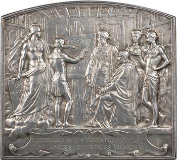 Borrel (A.) : centenaire de la fondation de l'École des langues orientales vivantes, 1895 Paris