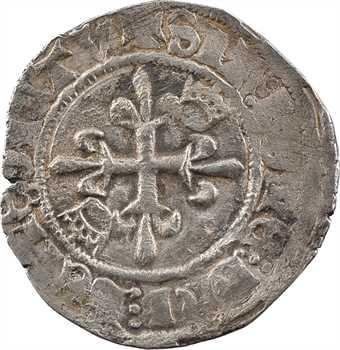 Duc de Bourgogne (au nom de Charles VI), florette 2e émission, mars à octobre 1418, Troyes