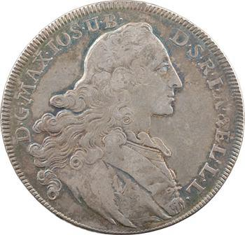 Allemagne, Bavière (royaume de), Maximilien III Joseph, thaler de convention, 1770 Munich